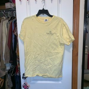 Yellow simply southern t shirt